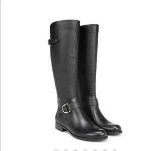 Naturalizer Black Jillian Knee Boot WIDE CALF